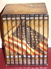 *NEW* The American Heritage Series (DVD, 2009, 10-Disc Box Set) w/ David Barton