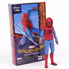 Figura Giocattolo in Scatola Figuarts SPIDER-MAN Homecoming Home Made Tuta VER 6/'/'S.H