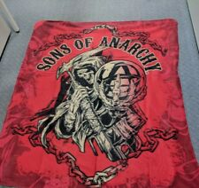 Sons of Anarchy Throw Rug - Harley Davidson - Motorcycle - DVD Series
