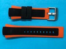 Festina Uhrband Ersatzband F6727  Kautschuk schwarz/orange Band