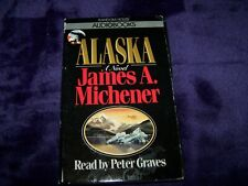 Alaska by James A Michener Book on Tape - 2 Cassettes
