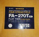 Saito Engine - Saito FA-270T 45cc four stroke AAC HEMI-HEAD - NIB