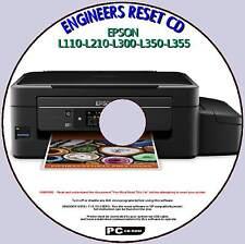 EPSON L110 L210 L300 L350, L355 rifiuti INCHIOSTRO PAD CONTATORE Fix ingegneri Reset pccd