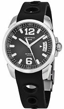 Certina Men's DS Rookie Black Rubber Strap Swiss Quartz Watch C0164101705700