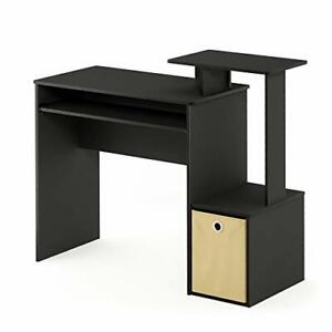 Furinno Econ Multipurpose Home Office Computer Writing Desk Black/Brown