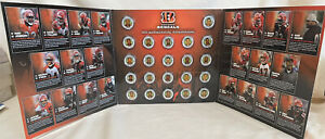 Cincinnati Bengals 2006 Medallions Collection Complete Set 22 NFL Players Coins