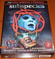 SUBSPECIES Saga completa / SUBSPECIES Complete saga - BLURAY - Precintada