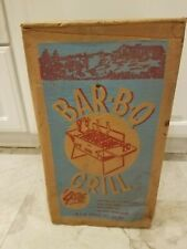 Vintage Bar-B-Q Grill 1956 old store stock unopen Gas Station