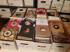 Lot of 50 randomly selected 45RPM records Pop, Rock, Funk, Soul, Jazz