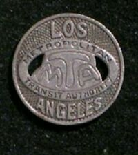*FULL BOX VINTAGE Los Angeles MTA transit tokens c. 1960s 25 ROLLS (250 TOKENS)*