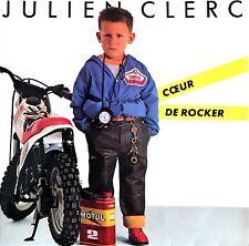 """Julien Clerc 7"""" Cœur De Rocker - France (EX/EX)"""