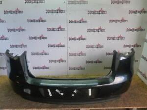RENAULT LAGUNA MK3 REAR BUMPER WITH FOG LIGHTS IN BLACK NV676 2008 - 2011