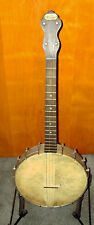 "1920's ""The Vernon"" 17 fret Irish Tenor Banjo All Original, Origl Endflap Case"
