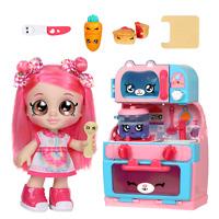 Kindi Fun Oven Playset with Donatina Doll Kindi Kids with 6 Exclusive Shopkins