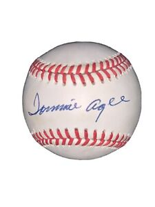 Tommie Agee Autographed Signed Baseball ONL PSA/DNA 1969 Mets Auto