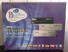 New listing BenQ Dw1620 16X+R16X-R Dvd+-Rw/R 8.5Gb Double Layer External Burner Drive