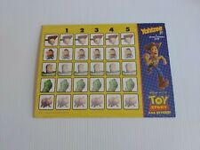 Toy Story And Beyond Yahtzee Junior Replacement Board