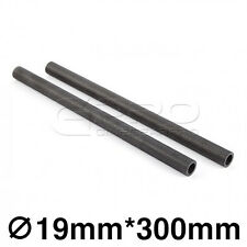 "CGPro 12""/300mm High Strength Carbon Fibre Rods (Pair) for 19mm Support System"