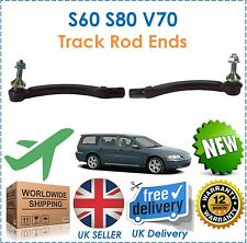 For Volvo S60 2000- S80 1998-2006 V70 2000-2007 Right & Left Track Rod Ends New