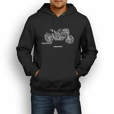 MV Agusta Brutale Dragster 800RR 2016 Inspired Motorcycle Art Men's Hoodie
