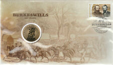 2010 - Burke and Wills - Stamp/coin Cover /PNC .........