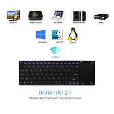Rii K12 Wireless UltraSlim Keyboard Mouse Touchpad Metal Tablet/Phone
