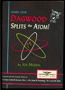 Dagwood Splits the Atom #nn Golden Age Promo Harvey File Copy 1949 FN+