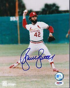 Bruce Sutter Cardinals Signed 8x10 Photo Autograph Auto PSA/DNA AD92511