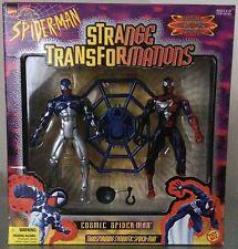 SPIDER-MAN - STRANGE TRANSFORMATIONS - COSMIC ACTION FIGURES - Rare!
