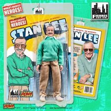 Stan Lee Retro 8 Inch Green Sweater Version Figures Toy Company