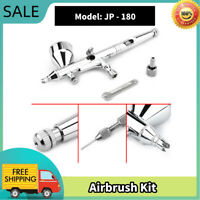 0.2mm 9cc Dual Action Gravity Airbrush Spray Gun Art Painting Air Brush Hot xx