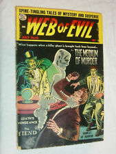 Web of Evil #16 FA The medium of Murder, the fiend LOOK
