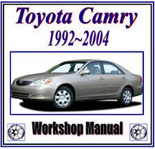 TOYOTA CAMRY 1992 - 2004 WORKSHOP SERVICE REPAIR MANUALDIGITAL DOWNLOAD