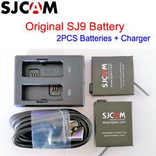 Original SJCAM SJ9 Battery Kit 1300mAh ( 2pcs Batteries + Dual Charger + Cable)