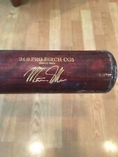 Chicago White Sox Matt Skole Game Used Bat Washington Nationals Charlotte Knight