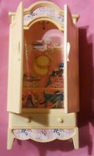 Vintage 1996 Barbie Wardrobe Armoire Cabinet with drawer
