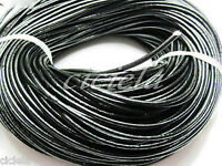 Lots 5M PU Leather Rope String Cord Braid Necklace Bracelet Finding Chain DIY