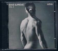 MINA RANE SUPREME VOL. 2 CD F.C. 1 STAMPA MADE IN SWITZERLAND