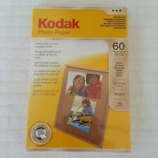 Kodak Glossy Photo Paper - 4 x 6 in (10 x 15 cm) - 60 Sheets
