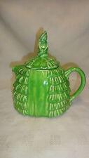 Vintage Sadler Ye Daintee Laydee Teapot  - Green Glaze A/F