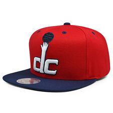 "Washington Wizards ""dc"" Arch Undervisor Snapback Mitchell & Ness NBA Hat"