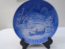 1970 Bing and Grondahl B & G Christmas Plate Pheasant in the Snow Mint Condition