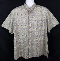 Kahala Hawaiian Shirt Mens XL Short Sleeve Button Front Cotton Surf Surfer Aloha