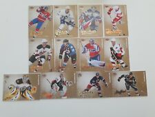 Lot of 12 2008-09 Fleer Ultra Gold Medallion cards- Price&Sakic. No duplicates