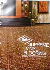 NAFCO National Floor Products ASBESTOS Vinyl Tile Hydrafelt Backing 1970