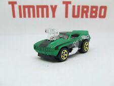 H Camaro Z28 Z 28 1969 Tooned en verde menta Hot Wheels De Arrastre