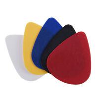 100pcs 0.58 - 0.86 mm Assorted Color Plectrums Plastic Guitar Picks X8H1