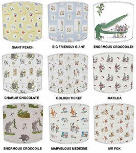 Roald Dahl Books Designs Lampshades, Ideal To match roald dahl Duvet Covers