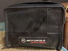 Vintage Motorola SCN2476A Mobile Cellular Car Phone With Bag Case