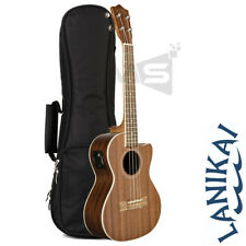 LANIKAI M-SERIES MA-T TENOR ACOUSTIC ELECTRIC UKULELE w/ FISHMAN PICKUPS + BAG